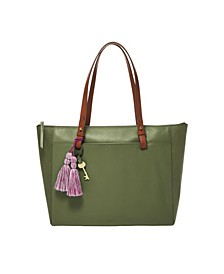 Women's Rachel Leather Tote with Lizard Embossing