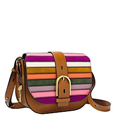 Women's Wiley Saddle Bag Patchwork
