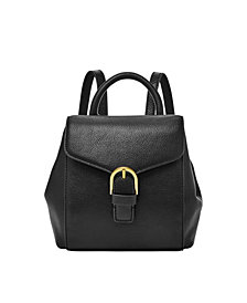 Fossil Women's Liv Mini Leather Backpack