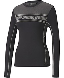 Women's EvoStripe evoKNIT Long-Sleeve Top