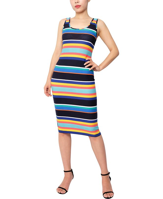 Planet Gold Juniors' Midi Bodycon Dress