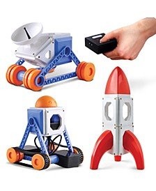 Toy Magnetic Tiles with Remote Control