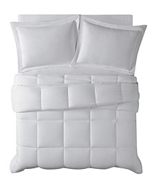 Antimicrobial  Down Alternative 3 Piece Comforter Set, King