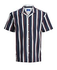 Men's Short Sleeve Button-Down Shirt