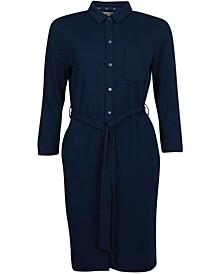 Auklet Button-Front Dress