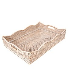 Scallop Collection Rectangular Tray