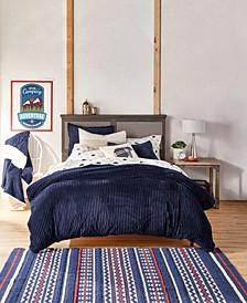 Cozy Corduroy Comforter Sets
