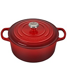 3.5-Qt. Signature Enameled Cast Iron Round Dutch Oven