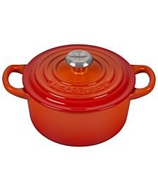 1-Qt. Signature Enameled Cast Iron Round Dutch Oven
