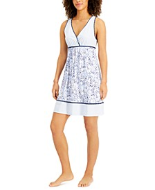 Printed Chemise Nightgown, Created for Macy's