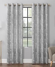 Lotus Botanical Cotton Blend Curtain Collection