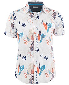 Men's Retro Tropical Print Shirt, Created for Macy's
