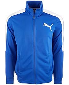 Men's Contrast-Stripe Track Jacket