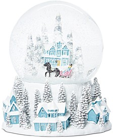 Shimmer & Light Winter Village Water Globe, Created for Macy's