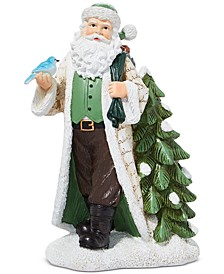 Birds & Boughs Jolly Santa with Tree, Created for Macy's