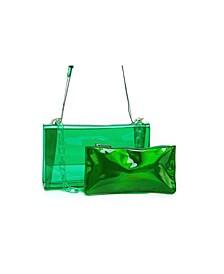 Frozen Envelope Chain Belt Bag