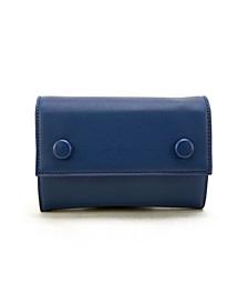 Two-Tone Envelope Belt Bag