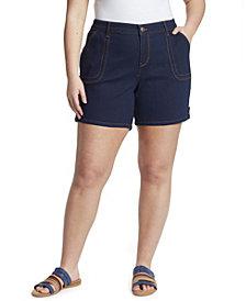 Gloria Vanderbilt Women's Plus Size Short with Tabs