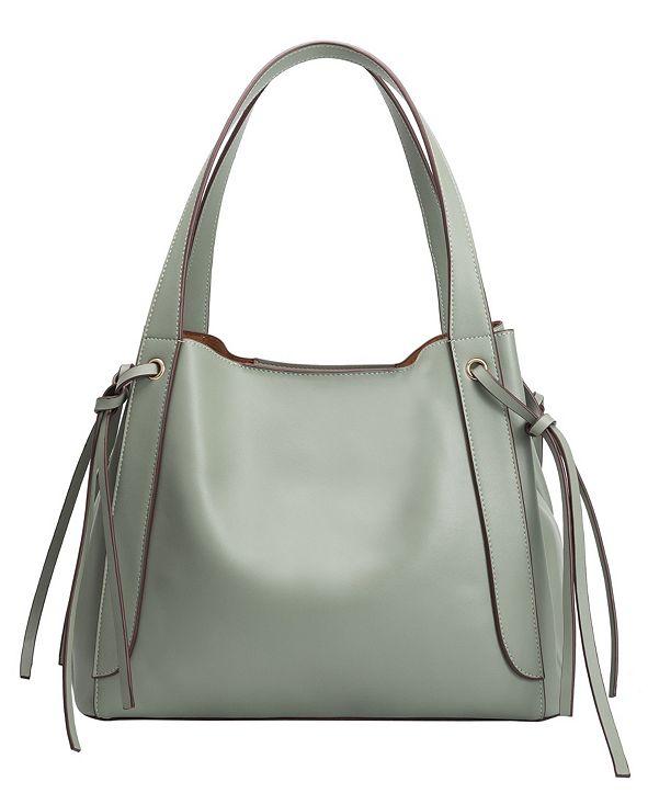 Melie Bianco Leslie Large Tote Bag