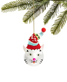 Pets, Glass Cat Ornament, Created for Macy's