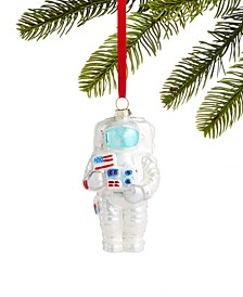 Spaced Out Glass Astronaut Ornament, Created for Macy's