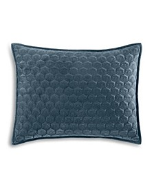 Feather Velvet Quilted King Sham, Created for Macy's
