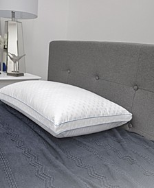 Paired Comfort Hybrid Memory Foam and Fiber Bed Pillow