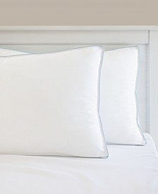 Gel-Infused Memory Foam Cluster and Gel Fiber Jumbo Bed Pillow, 2 Pack