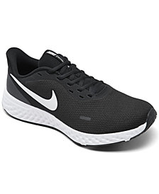 Nike Men's Revolution 5 Wide Width Running Sneakers from Finish Line