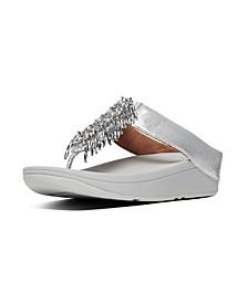 Women's Velma Beaded Toe-Thongs Sandal