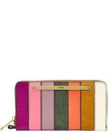 Women's Liza Zip Around Clutch Patchwork