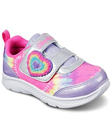 Toddler Girl's Comfy Flex 2.0 - Groovy Hearts Stay-Put Closure Running Sneakers from Finish Line
