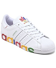 Men's Originals Superstar Casual Sneakers from Finish Line
