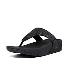 Women's Lulu Glitter Toe-Thongs Sandal