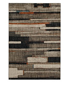 """Elements Compose Charcoal 9'6"""" x 12'11"""" Area Rug"""