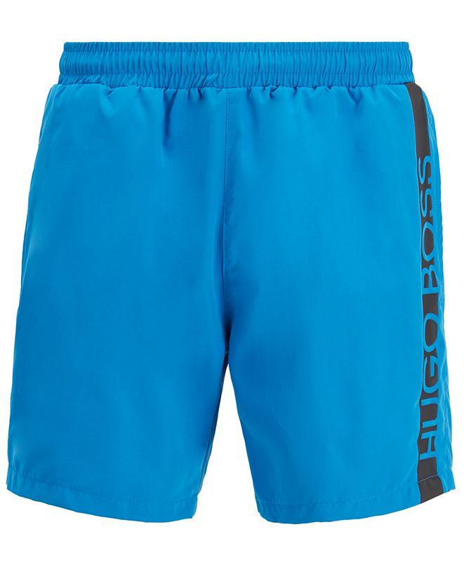 Hugo Boss BOSS Men's Dolphin Medium-Length Swim Shorts