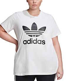 Plus Size Originals Trefoil T-Shirt