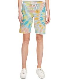 Tie-Dyed Bermuda Shorts