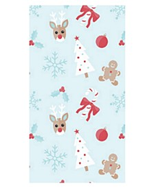 Holly Jolly Guest Paper  Towel, Pack of 32
