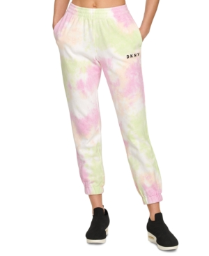 Dkny SPORT TIE-DYED JOGGERS
