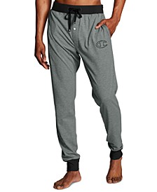 Men's Cotton Colorblocked Jogger Pajama Pants