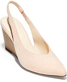 Women's Elnora Slingback Wedge Pumps