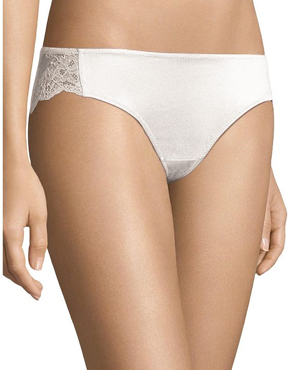 Maidenform Comfort Devotion Lace Back Tanga Underwear 40159