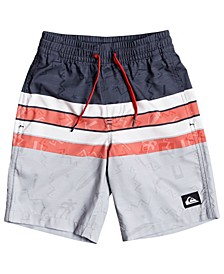 Quicksilver Little Boys Magic Volley 14 Swim Trunks