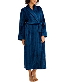 Long Stripe Textured Cozy Robe, Created for Macy's