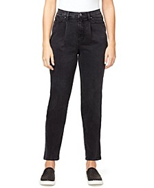 Women's Super High Rise Drifter Pleated Jeans