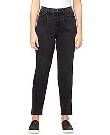 Women's Super High Rise Drifter Pleated Jeans