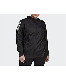 Women's Own The Run Jacket Plus Size