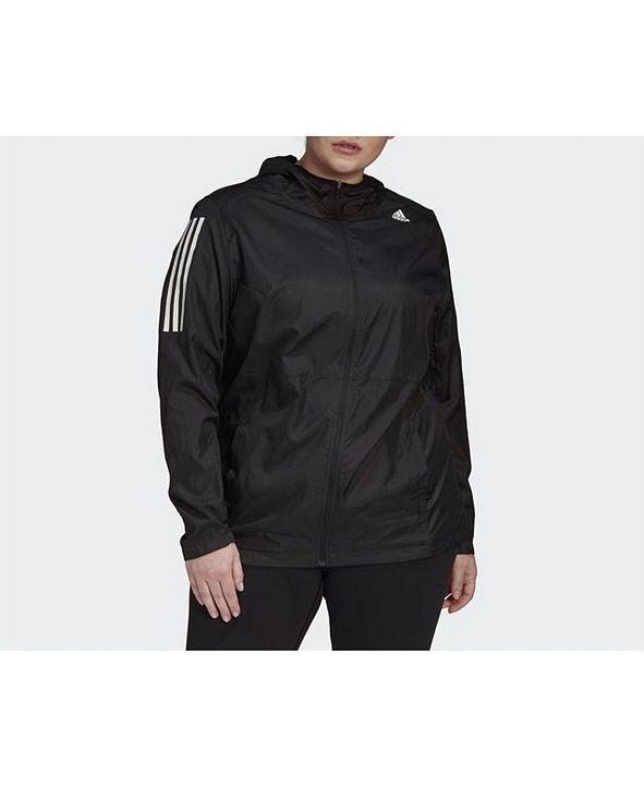 adidas Women's Own The Run Jacket Plus Size