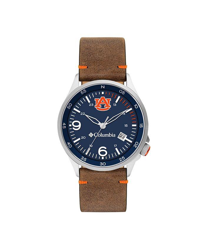 Columbia - Men's Canyon Ridge Auburn Saddle Leather Watch 45mm